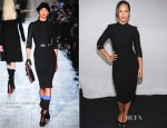 Alicia Keys In Victoria Beckham -  'The Journals of Mama Mae & LeeLee' Interactive Storytelling App Launch
