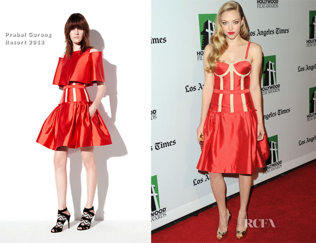 Amanda Seyfried In Prabal Gurung - 16th Annual Hollywood Film Awards Gala
