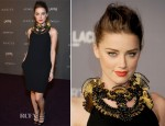 Amber Heard In Gucci - LACMA 2012 Art + Film Gala
