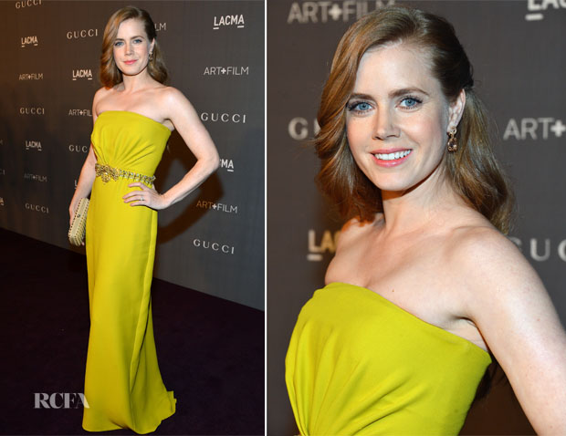 Amy Adams In Gucci - LACMA 2012 Art + Film Gala