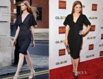 Amy Adams In Roland Mouret - 2012 GSLEN Respect Awards