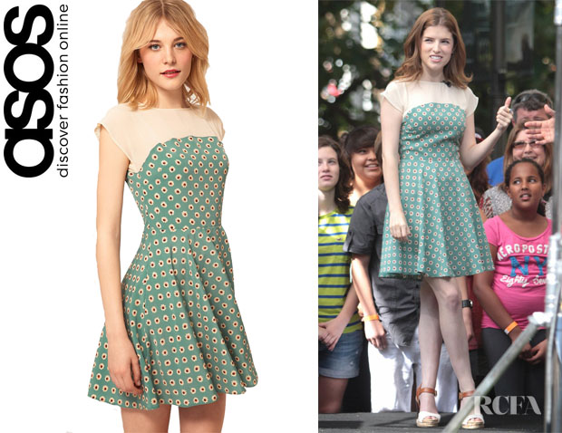 Anna Kendrick's ASOS Skater Dress