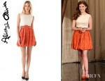 Anna Kendrick's Alice + Olivia Selby Bubble Skirt Dress