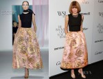 Anna Wintour In Christian Dior - WSJ Magazine's 'Innovator of the Year' Awards