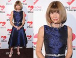 Anna Wintour In Michael Kors - Michael Kors Golden Heart Gala