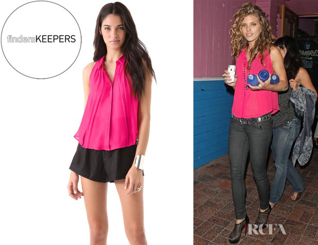 AnnaLynne McCord's Finders Keepers Into My World Shirt