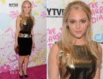 AnnaSophia Robb In Emilio Pucci - 'The Carrie Diaries' New York Television Festival Premiere