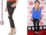 AnnaSophia Robb's AG Adriano Goldschmied Super Skinny Legging Jeans