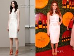 Ashley Greene In Antonio Berardi - 2012 Veuve Clicquot Polo Classic Event