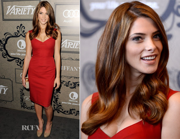 Ashley Greene In Roland Mouret - Variety's 4th Annual Power Of Women Event
