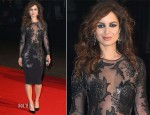 Bérénice Marlohe In Julien MacDonald – 'Skyfall' Royal Premiere After-Party