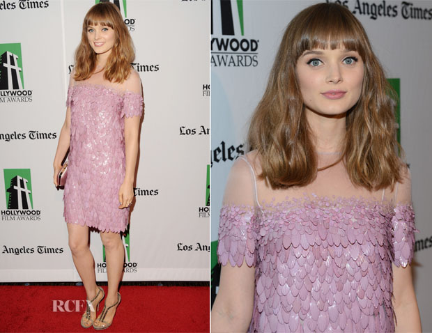 Bella Heathcote In Gucci - 16th Annual Hollywood Film Awards Gala