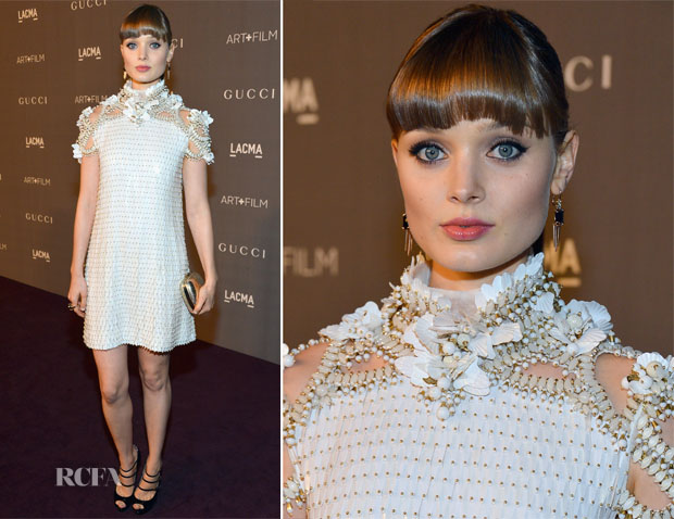 Bella Heathcote In Gucci - LACMA 2012 Art + Film Gala