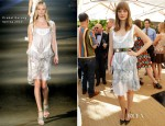 Bella Heathcote In Prabal Gurung - CFDA/Vogue Fashion Fund Event