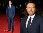 Ben Affleck In Gucci - 'Argo' London Film Festival Premiere