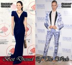 Best Dressed Of The Week - Zhang Ziyi In Marc Bouwer Couture & Karolina Kurkova In Roberto Cavalli
