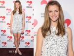 Brooklyn Decker In Michael Kors - Michael Kors Golden Heart Gala