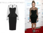 Brooklyn Decker's Stella McCartney Peplum Dress
