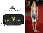 Cara Delevingne's Burberry Prorsum Alma Fox Quilted Clutch