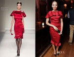 Carmen Ejogo In Moschino - 'Alex Cross' After Party