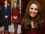 Catherine, Duchess of Cambridge In Paule Ka - Middle Temple Inn Visit