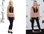 Chelsea Handler's Elizabeth and James Silk Odin Tuxedo Shirt