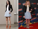 Chloe Moretz In Antonio Berardi - 2012 New York Comic Con: 'Carrie' Discussion Panel