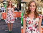 Christa B. Allen In Ted Baker London - 'Extra'