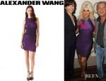 Christina Aguilera's Alexander Wang Opviant Rib Tank Dress