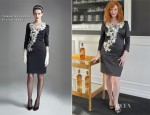 Christina Hendricks In Temperley London - A Private Johnnie Walker Tasting
