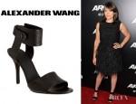 Clea DuVall's Alexander Wang Amber Sandals