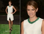 Cody Horn In Barbara Bui - 2012 Environmental Media Awards
