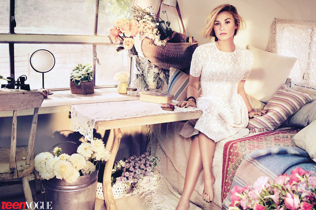 Demi Lovato for Teen Vogue November 2012