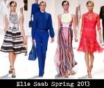 Elie Saab Spring 2013