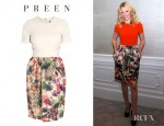 Elizabeth Banks' Preen Drake Dress