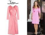 Elizabeth Hurley's Issa Gathered Waist Dress