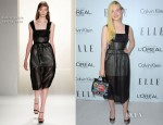 Elle Fanning In Calvin Klein - Elle's Women In Hollywood Celebration