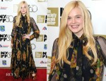 Elle Fanning In Vintage - 'Ginger And Rosa' New York Film Festival Premiere