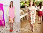 Emma Roberts In Stella McCartney – CFDA/Vogue Fashion Fund Event