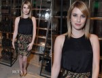 Emma Roberts In Rag & Bone - Rag & Bone LA Flagship Store Opening Party