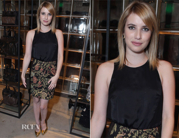 Emma Roberts in Rag & Bone
