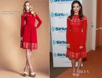 Emmy Rossum In Temperley London - SiriusXM Studio
