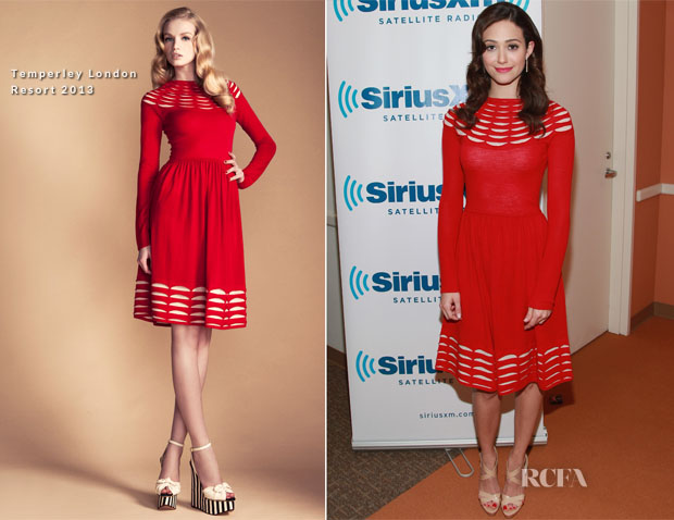 66b3f86d8abc Emmy Rossum was at the Sirius XM Studios in New York City on Saturday to  promote her new movie