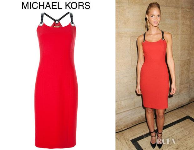 Erin Heatherton's Michael Kors Mandy Dress