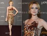 Evan Rachel Wood In Gucci - LACMA 2012 Art + Film Gala