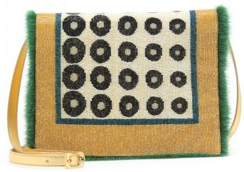 Fendi Daisy Beaded Bag