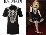Fergie's Balmain Cotton T-Shirt