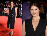 Gemma Arterton In Prada - 'Song For Marion' London Film Festival Premiere