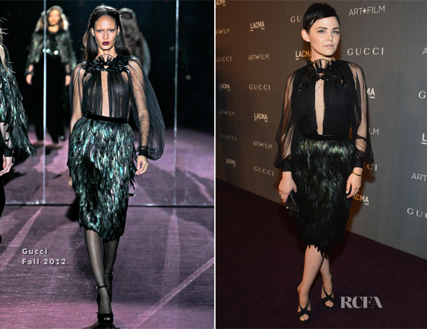 Ginnifer Goodwin In Gucci - LACMA 2012 Art + Film Gala