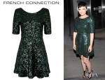 Ginnifer Goodwin's French Connection Ozlem Sequins Dress